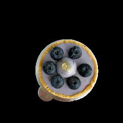 Тарт чорничний