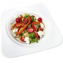 Салат з цукіні та соусом песто