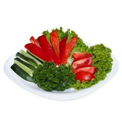 Овочева тарілка